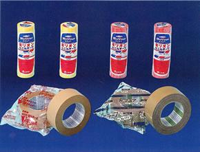 クラフト粘着テープ・ミリオンテープ,梱包資材・化成品,キング印紙製品,坂田紙工