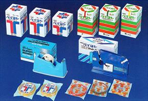 セロテープ・バックシーリングテープ,梱包資材・化成品,キング印紙製品,坂田紙工